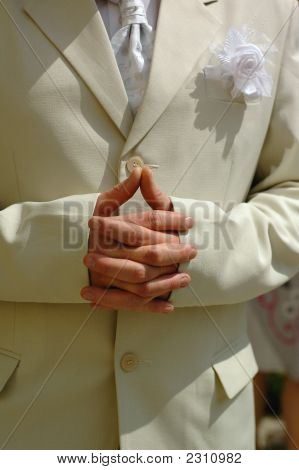 Bridegroom Hands