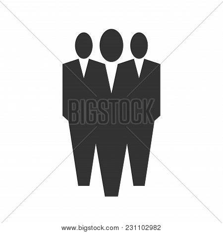 Office People Icon,three Men Wearing A Suits.