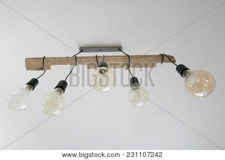 Vintage Lamps Lighting Decor Hanging From The Ceiling