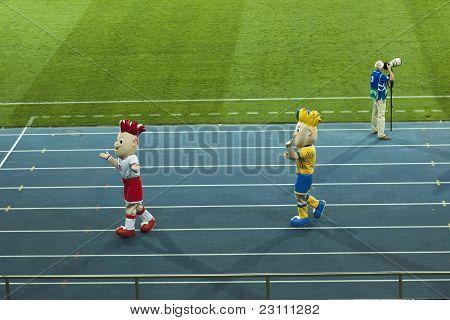 Euro 2012 Mascots