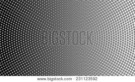 Stylish Geometric Black And White Abstract Background For Interior Design, Advertising, Screen Saver