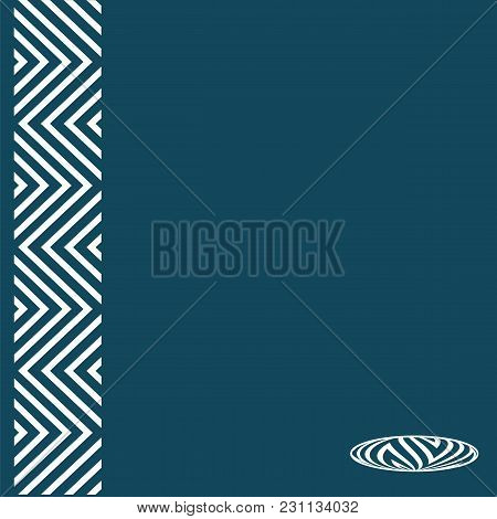 Abstract Art Element Of Graphic Design Logo Book Modern Vector Creative Blue Background For Presenta