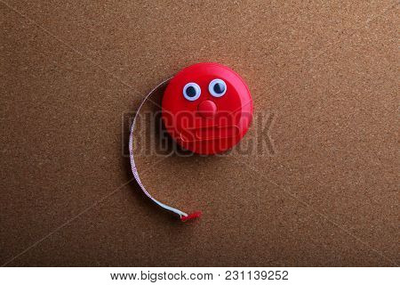 Red Home Tools Studio Quality Light Wooden Background