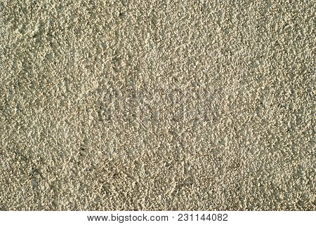Background, Texture - Rough Surface Of A Deliberately Coarse Plastered Wall
