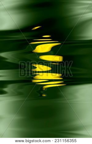 illustration of an abstract background with yellow elements