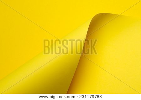 Abstract Color Paper In Geometric Shapes Picture