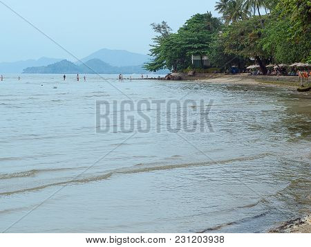 Koh Chang In Thailand Among Beautiful Beach.