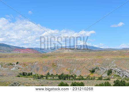 Wyoming Landscape near Cody.