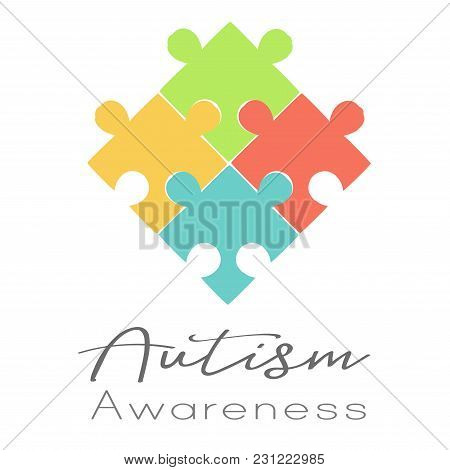 Puzzles And Autism Awareness