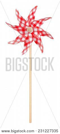 Pinwheel toy perfect on wooden stick wind power