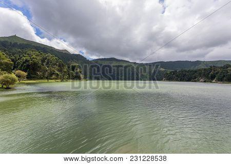 Sete Cidades lagoon, Sao Miguel Island - Azores Portugal