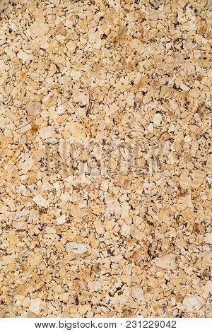 A Close Up Picture Surface Of Corkboard Texture For Background, Blank For Copy Space.
