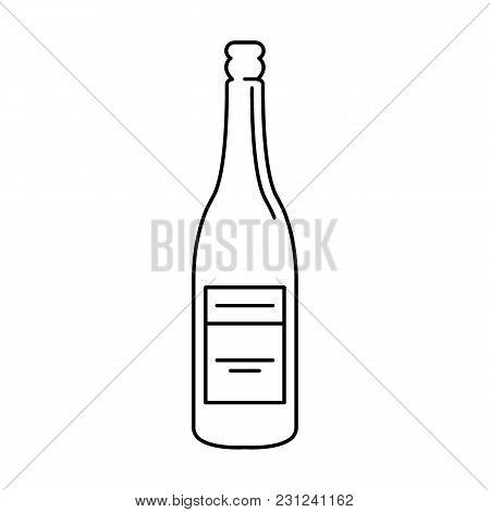 African Wine Icon. Outline African Wine Vector Icon For Web Design Isolated On White Background