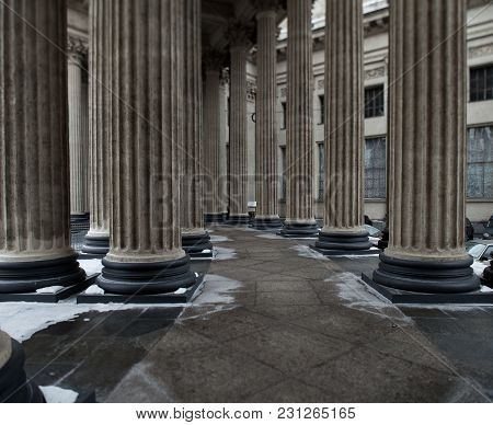 The Marble Colonnade Ionic Order Kazan Cathedral