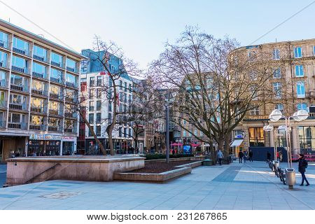 Roncalliplatz And Square Am Hof In Cologne, Germany