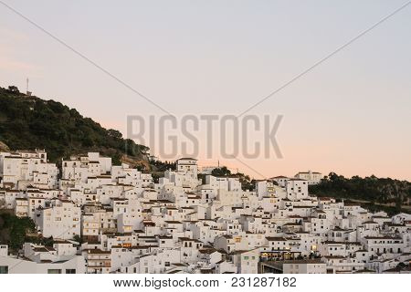 White Houses Old Town Casares Province Malaga Spain
