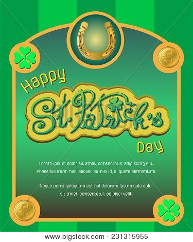 Saint Patrick's Day Poster
