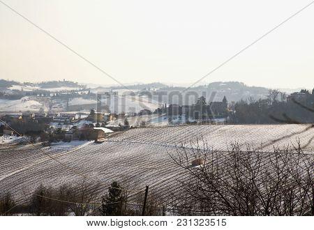 Snowy Hills Landscape
