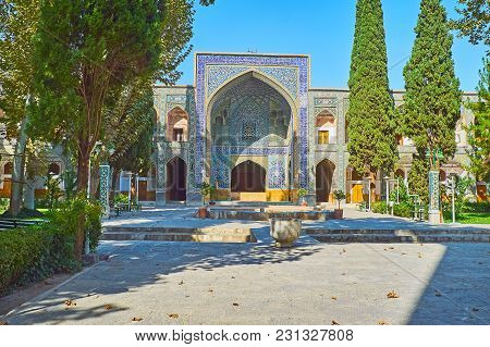The Medieval Chaharbagh Madraseh Is Also Famous As Four Gardens Madraseh And Nowadays It Boasts Love