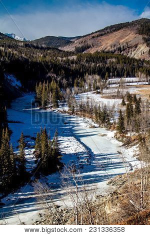 From The Roadside, Sheep River Provincial Park, Alberta, Canada
