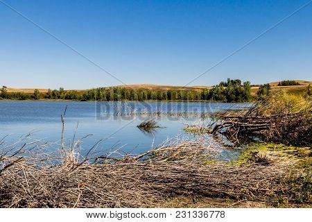 Little Fish Lake, Little Fish Lake Provincial Park, Alberta, Canada