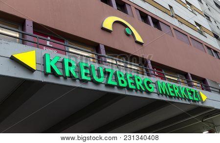 Building In Kottbusser Tor, Berlin, Germany