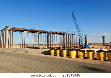 Taken In 2012. The Early Stages Of Construction For The Loop 303 Interchange That Will Link The Loop