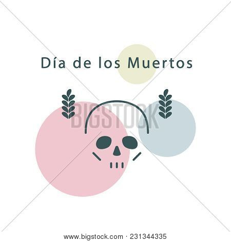 Skull. Modern Linear Style. Sign, Icon, Symbol, Logo. Vector Illustration.