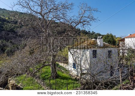 Village Of Maries, Thassos Island, East Macedonia And Thrace, Greece