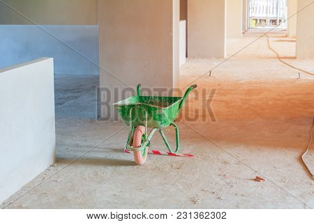 Trolley In Building Structure Interior Construction Site Development Housing
