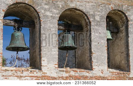 Mission Bells At Mission San Juan Capistrano