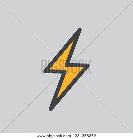 Illustration of thunder