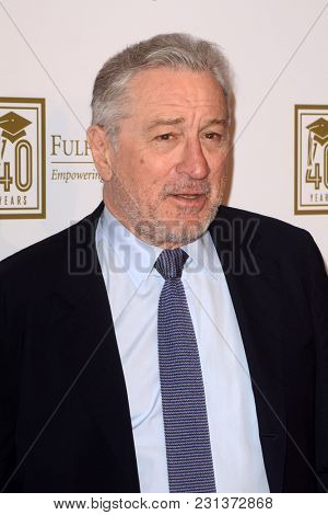 LOS ANGELES - MAR 13:  Robert De Niro at the Fulfillment Fund Gala at Dolby Theater on March 13, 2018 in Los Angeles, CA