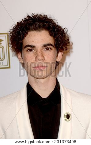 LOS ANGELES - MAR 13:  Cameron Boyce at the Fulfillment Fund Gala at Dolby Theater on March 13, 2018 in Los Angeles, CA