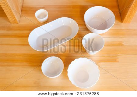White Ceramic Plates