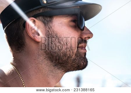 Guy in Cruise Ship Vacation