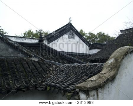 Roof Of Traditional Chinese Building