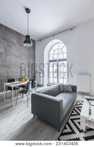 Dining Space In Loft Apartment
