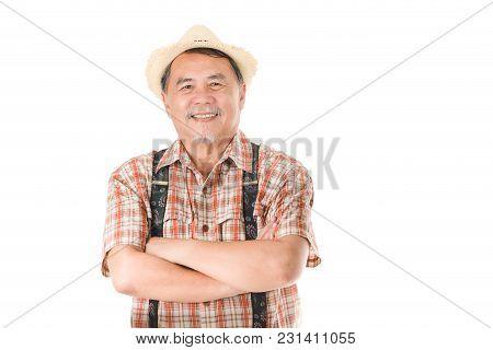 Portrait Asian Old Men