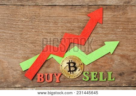 The Chart's Arrows Are Rising, The Price Of Bitcoin Is Rising. When To Sell Or Buy Bitcoin