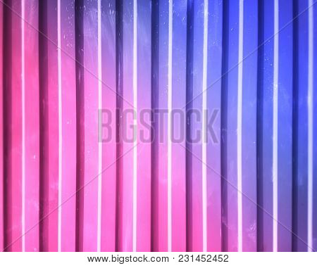 Vertical Metallic Pink And Purple Lines Texture Background Hd