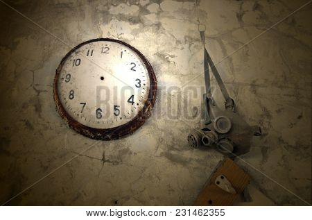 Time has stopped. Chernobyl Zone