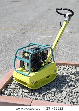 Small Plate Compactor Machine Construction Site Machinery