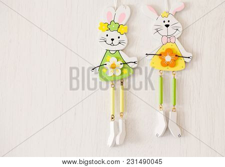 bunny shaped easter decorations