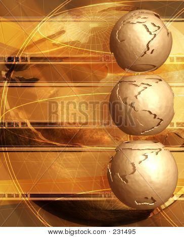 Clay Globes