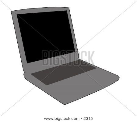 Laptop Icon Gray