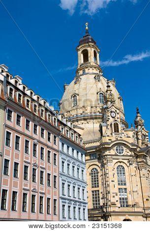 The Frauenkirche in Dresden