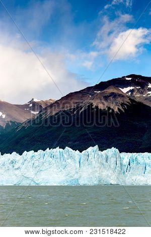 The Perito Moreno Glacier Is A Glacier Located In The Los Glaciares National Park In Santa Cruz Prov