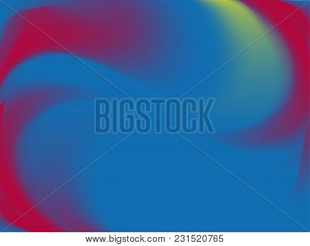Abstract Blurred Background. Smooth Gradient Texture Color. Vector Illustration. Shiny Bright Websit