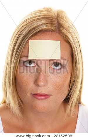 Study on women with Notepad